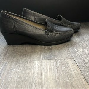 Rieker leather loafer